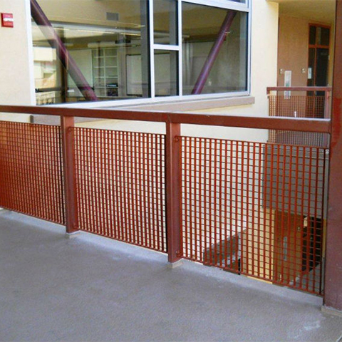 welded metal mesh